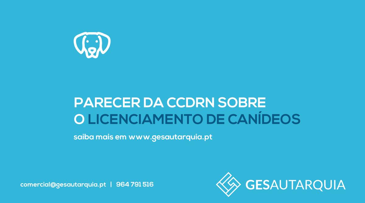 Parecer da CCDR-N sobre o Licenciamento de Canídeos