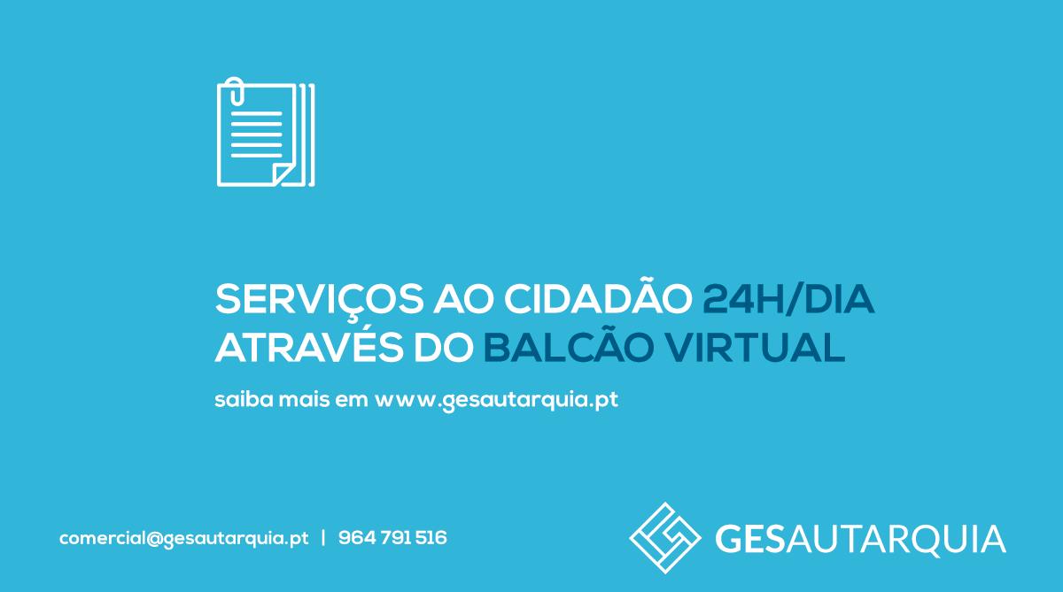 Serviços ao cidadão 24h/dia através do Balcão Virtual